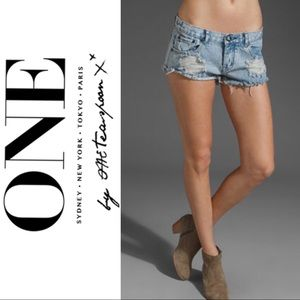 One Teaspoon Original Trash Whore Shorts